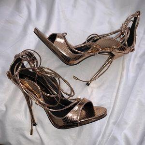 bbc22181558 Fashion Nova Shoes | Nude Heels | Poshmark